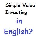 Soll Simple Value Investing auf Englisch fortgeführt werden?