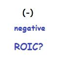 Kann ein negativer ROIC etwas gutes sein?